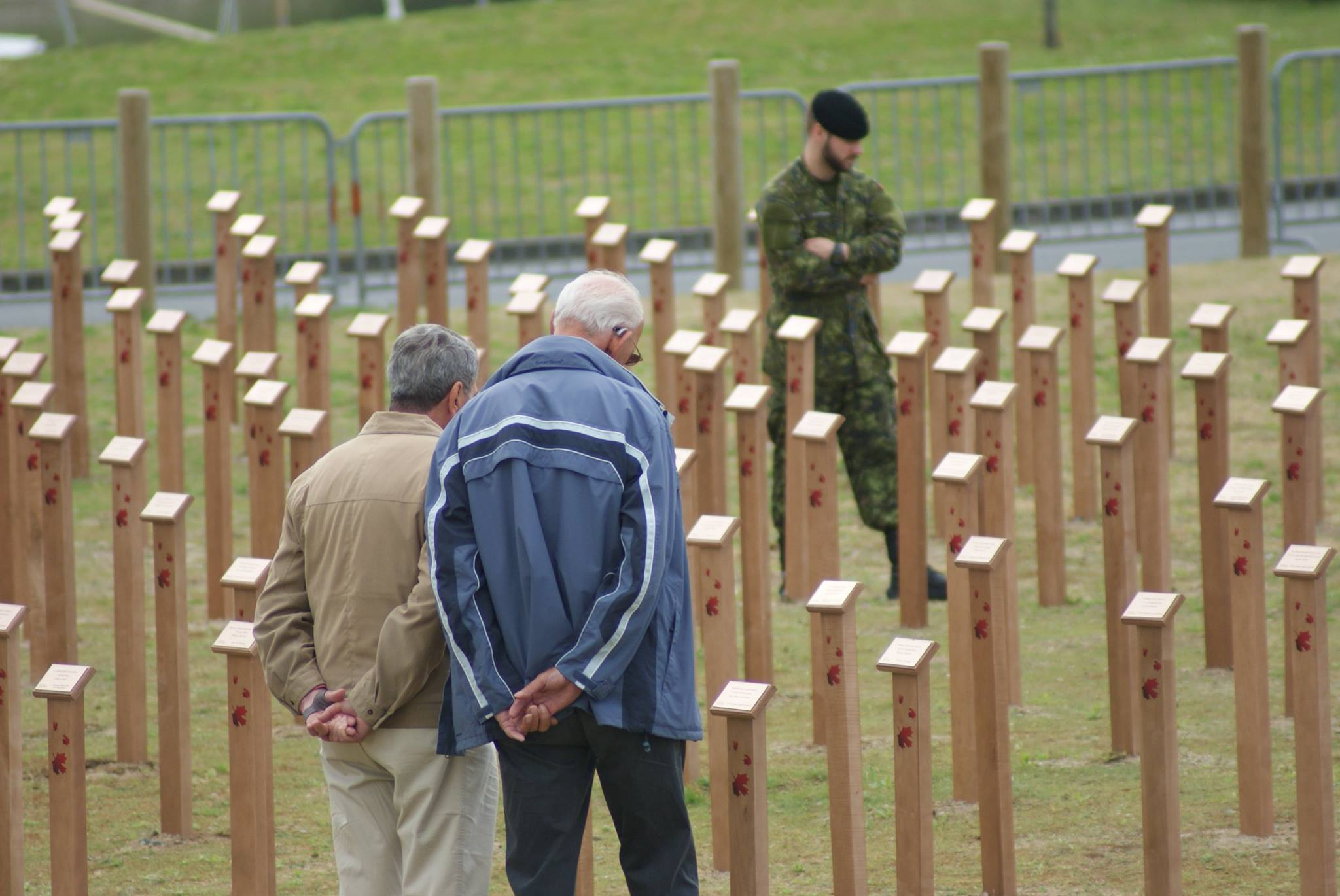 D-Day Tribute Installation