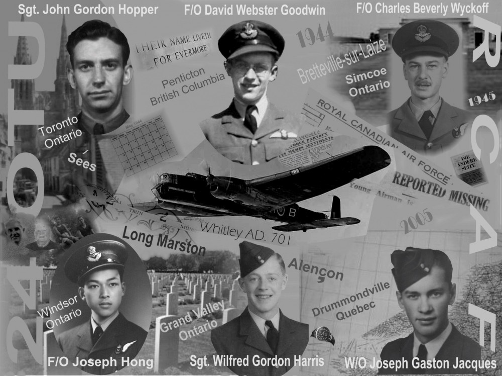 Whitley crew collage