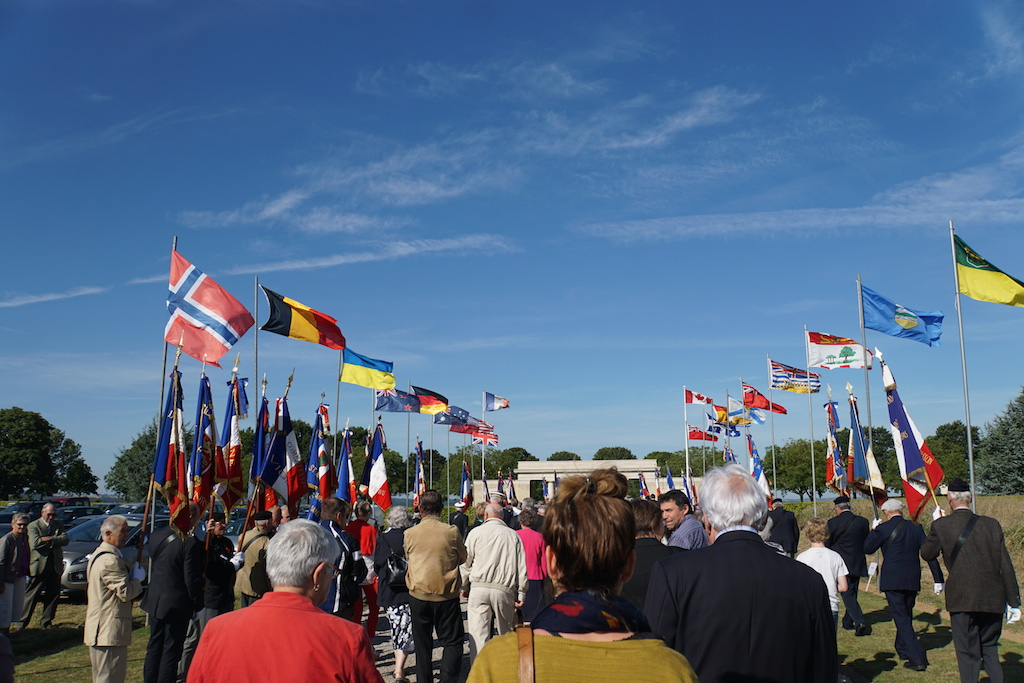flags at bretteville