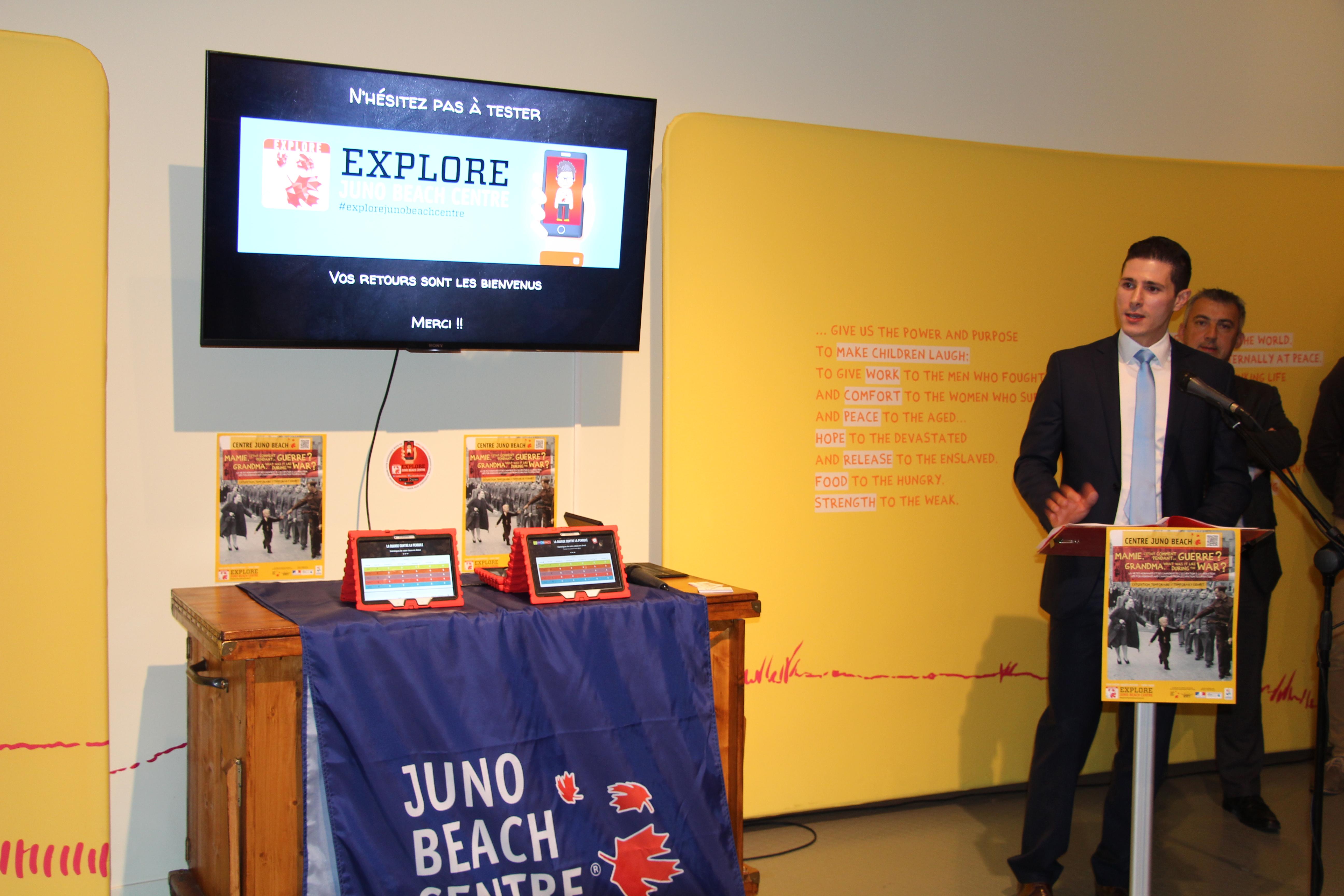 New Mobile App: Explore Juno Beach Centre : Juno Beach Centre