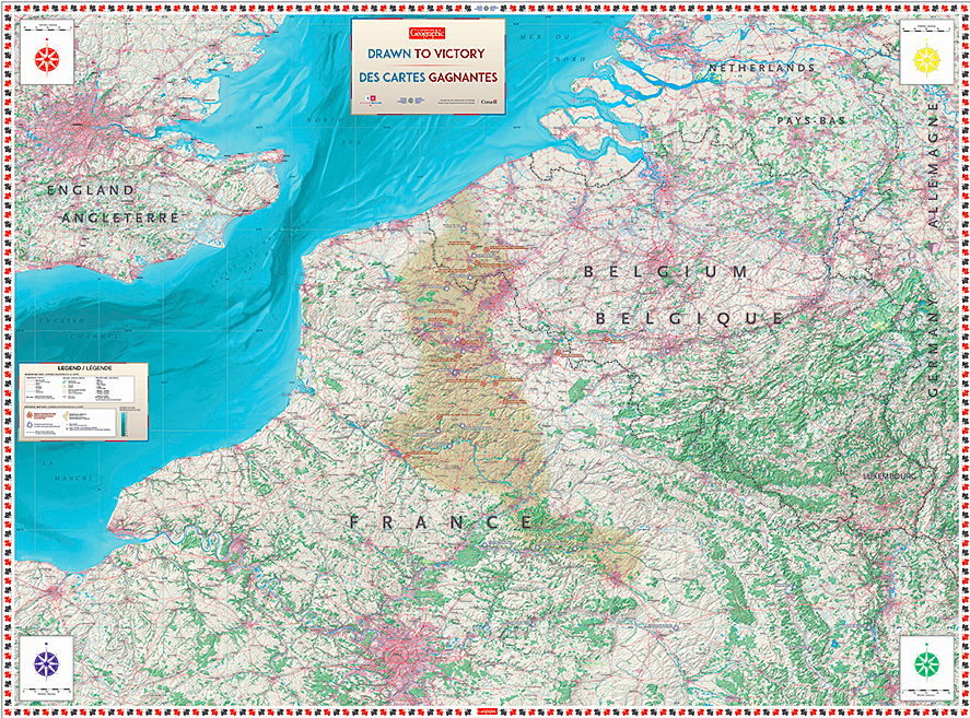 Map Of France Vimy.Explore Vimy Ridge On The Floor Of Your Classroom Juno Beach Centre